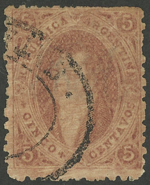 Lot 25 - Argentina rivadavias -  Guillermo Jalil - Philatino Auction # 1914 ARGENTINA: small but very attractive auction