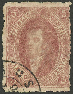 Lot 13 - Argentina rivadavias -  Guillermo Jalil - Philatino Auction # 1914 ARGENTINA: small but very attractive auction