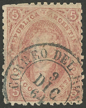 Lot 16 - Argentina rivadavias -  Guillermo Jalil - Philatino Auction # 1914 ARGENTINA: small but very attractive auction