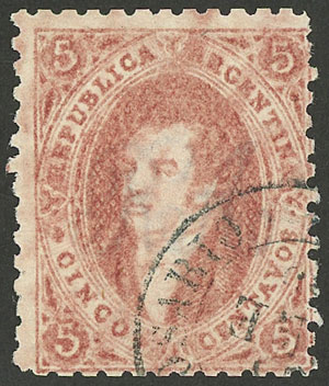 Lot 14 - Argentina rivadavias -  Guillermo Jalil - Philatino Auction # 1914 ARGENTINA: small but very attractive auction