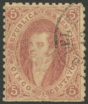 Lot 23 - Argentina rivadavias -  Guillermo Jalil - Philatino Auction # 1914 ARGENTINA: small but very attractive auction