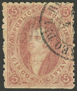 Lot 22 - Argentina rivadavias -  Guillermo Jalil - Philatino Auction # 1914 ARGENTINA: small but very attractive auction