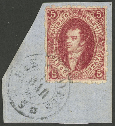 Lot 38 - Argentina rivadavias -  Guillermo Jalil - Philatino Auction # 1914 ARGENTINA: small but very attractive auction
