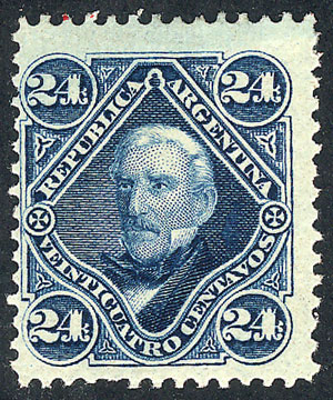 Lot 61 - Argentina general issues -  Guillermo Jalil - Philatino Auction # 1914 ARGENTINA: small but very attractive auction