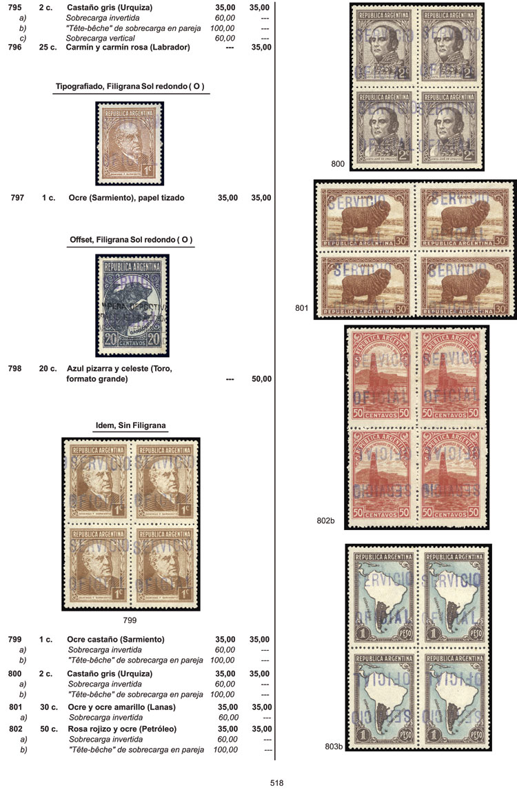 Lot 1 - Argentina books -  Guillermo Jalil - Philatino Auction # 1914 ARGENTINA: small but very attractive auction
