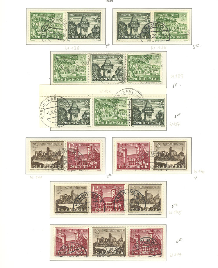 Lot 68 - germany Lots and Collections -  Guillermo Jalil - Philatino Auction # 1915 WORLDWIDE + ARGENTINA: Special April Auction