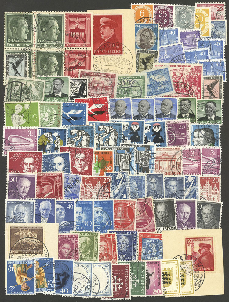 Lot 71 - germany Lots and Collections -  Guillermo Jalil - Philatino Auction # 1915 WORLDWIDE + ARGENTINA: Special April Auction