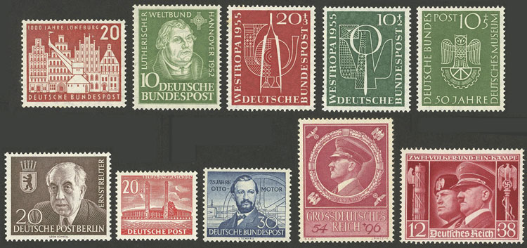 Lot 73 - germany Lots and Collections -  Guillermo Jalil - Philatino Auction # 1915 WORLDWIDE + ARGENTINA: Special April Auction