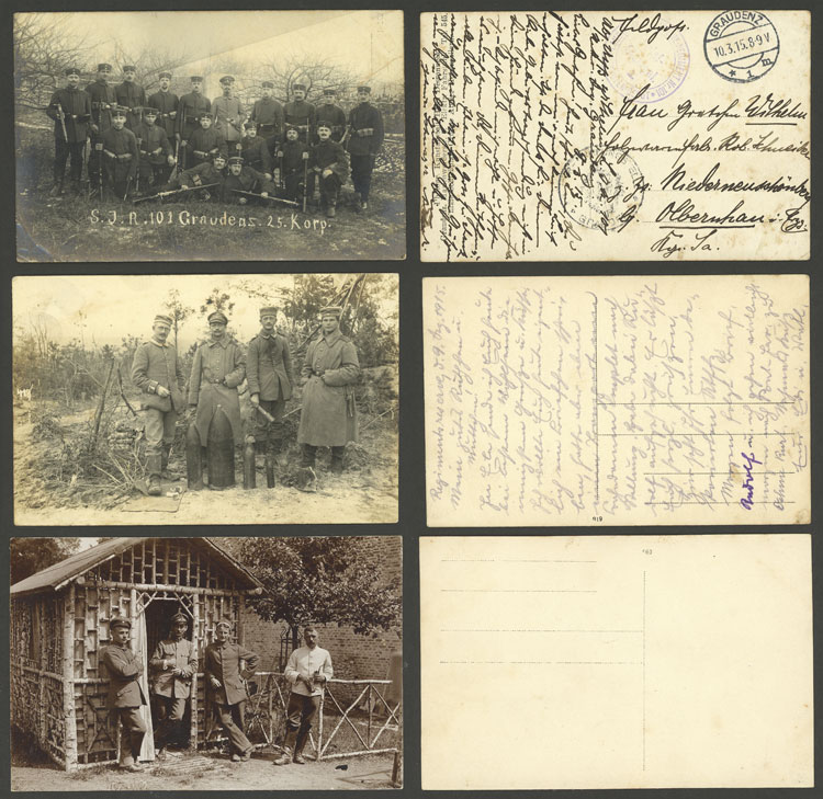 Lot 34 - germany postal history -  Guillermo Jalil - Philatino Auction # 1915 WORLDWIDE + ARGENTINA: Special April Auction