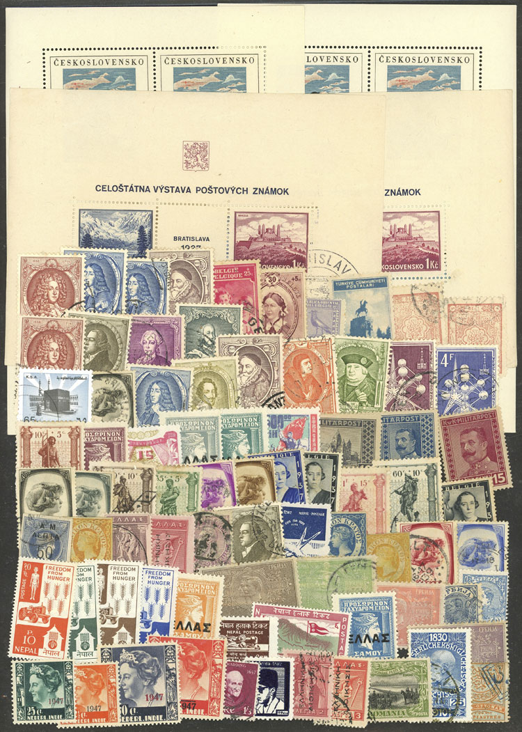 Lot 884 - worldwide Lots and Collections -  Guillermo Jalil - Philatino Auction # 1915 WORLDWIDE + ARGENTINA: Special April Auction