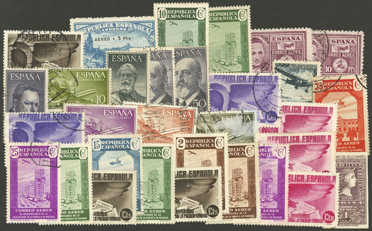 Lot 454 - SPAIN + COLONIES Lots and Collections -  Guillermo Jalil - Philatino Auction # 1915 WORLDWIDE + ARGENTINA: Special April Auction