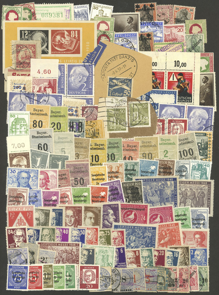 Lot 66 - germany Lots and Collections -  Guillermo Jalil - Philatino Auction # 1915 WORLDWIDE + ARGENTINA: Special April Auction