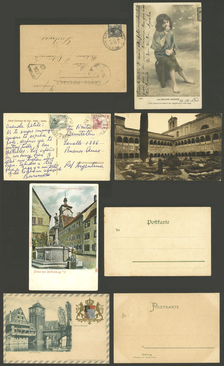 Lot 879 - worldwide postal history -  Guillermo Jalil - Philatino Auction # 1915 WORLDWIDE + ARGENTINA: Special April Auction