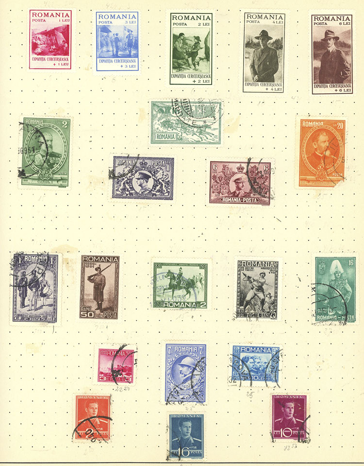 Argentina Latin America Independent Argentina Sheet Of 25 Fine Used Stamps 07