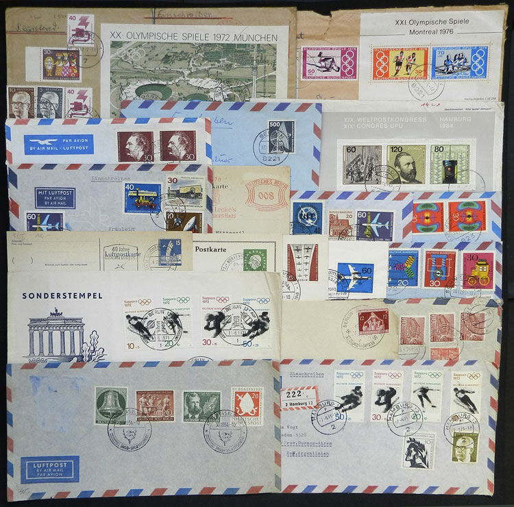 Lot 42 - germany postal history -  Guillermo Jalil - Philatino Auction # 1915 WORLDWIDE + ARGENTINA: Special April Auction