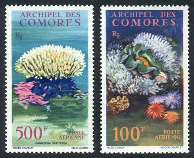 Lot 409 - comoros air mail -  Guillermo Jalil - Philatino Auction # 1915 WORLDWIDE + ARGENTINA: Special April Auction