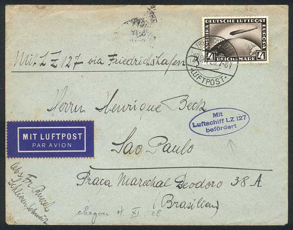 Lot 39 - germany postal history -  Guillermo Jalil - Philatino Auction # 1915 WORLDWIDE + ARGENTINA: Special April Auction