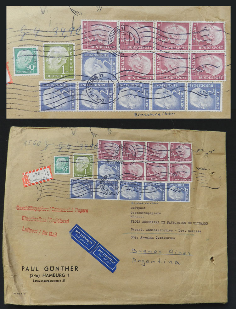 Lot 60 - germany postal history -  Guillermo Jalil - Philatino Auction # 1915 WORLDWIDE + ARGENTINA: Special April Auction