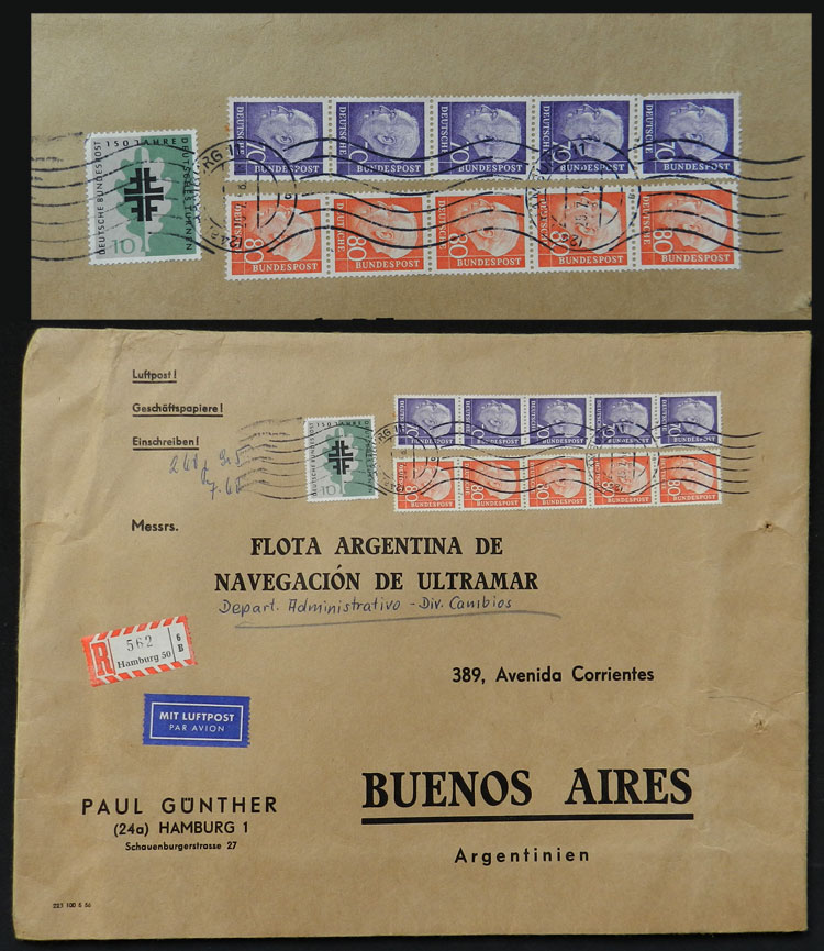 Lot 58 - germany postal history -  Guillermo Jalil - Philatino Auction # 1915 WORLDWIDE + ARGENTINA: Special April Auction