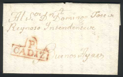 Lot 442 - Spain postal history -  Guillermo Jalil - Philatino Auction # 1915 WORLDWIDE + ARGENTINA: Special April Auction