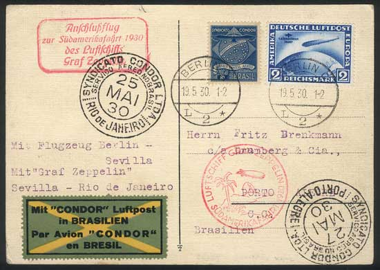 Lot 41 - germany postal history -  Guillermo Jalil - Philatino Auction # 1915 WORLDWIDE + ARGENTINA: Special April Auction