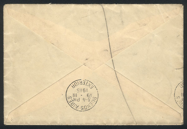 Lot 521 - Great Britain postal history -  Guillermo Jalil - Philatino Auction # 1915 WORLDWIDE + ARGENTINA: Special April Auction