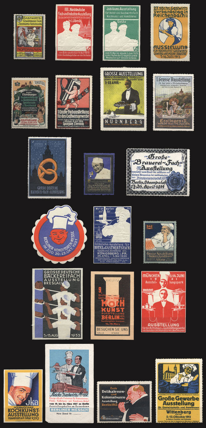 Lot 80 - germany cinderellas -  Guillermo Jalil - Philatino Auction # 1915 WORLDWIDE + ARGENTINA: Special April Auction