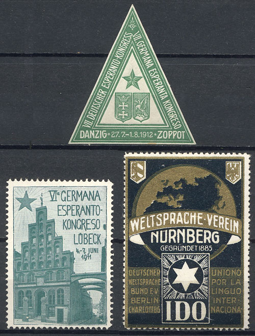 Lot 88 - germany cinderellas -  Guillermo Jalil - Philatino Auction # 1915 WORLDWIDE + ARGENTINA: Special April Auction