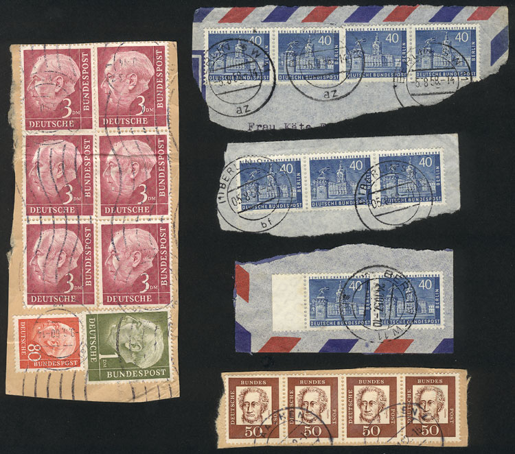 Lot 75 - germany Lots and Collections -  Guillermo Jalil - Philatino Auction # 1915 WORLDWIDE + ARGENTINA: Special April Auction