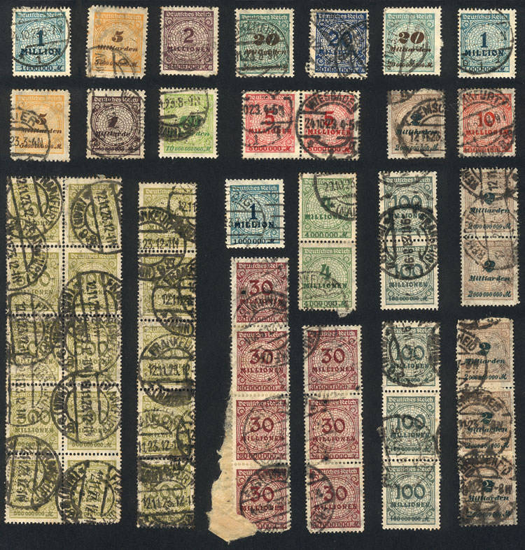 Lot 70 - germany Lots and Collections -  Guillermo Jalil - Philatino Auction # 1915 WORLDWIDE + ARGENTINA: Special April Auction