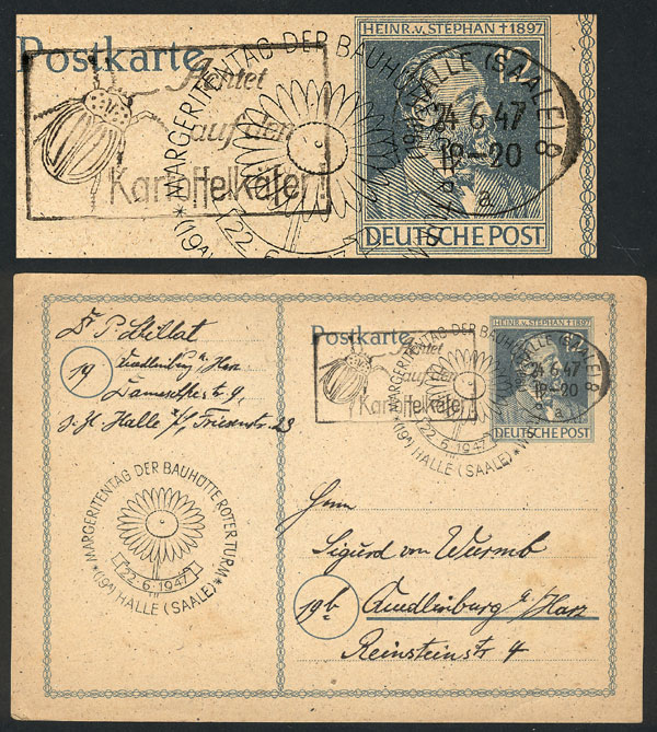 Lot 53 - germany postal history -  Guillermo Jalil - Philatino Auction # 1915 WORLDWIDE + ARGENTINA: Special April Auction
