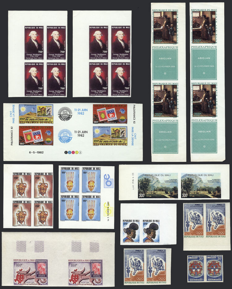 Lot 23 - africa Lots and Collections -  Guillermo Jalil - Philatino Auction # 1915 WORLDWIDE + ARGENTINA: Special April Auction
