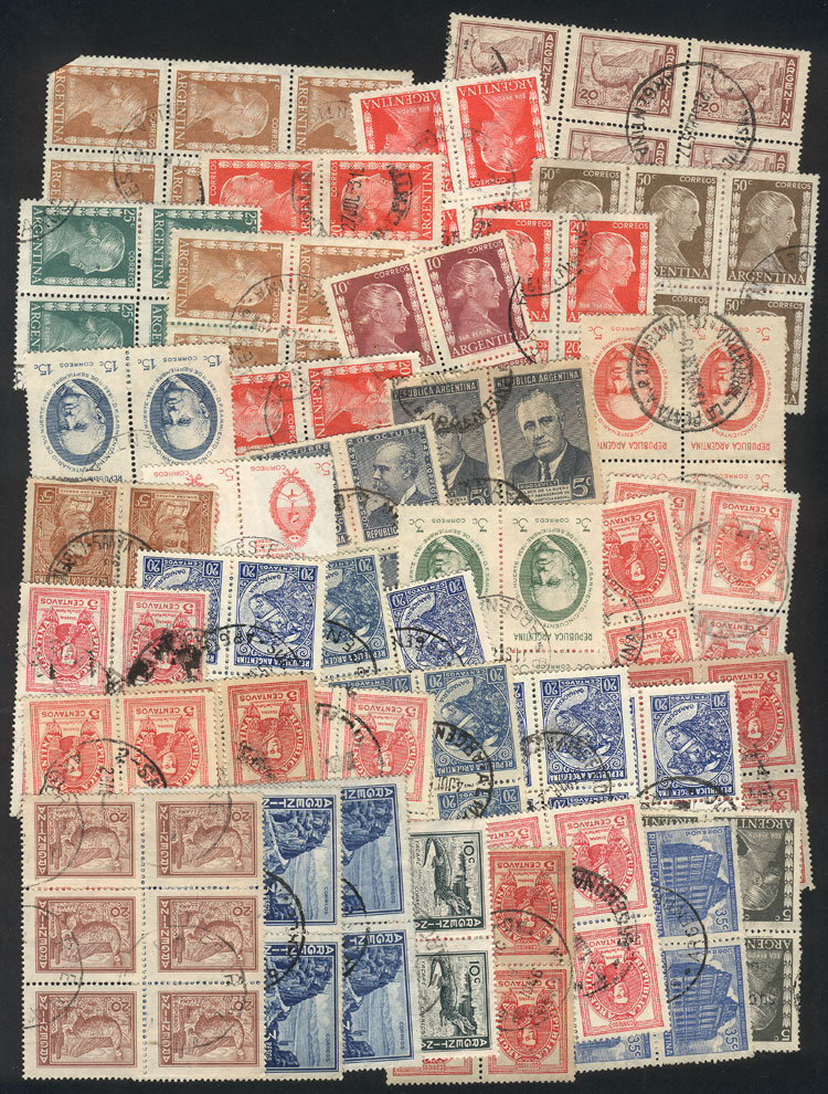 Lot 314 - Argentina Lots and Collections -  Guillermo Jalil - Philatino Auction # 1915 WORLDWIDE + ARGENTINA: Special April Auction