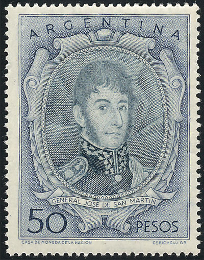 Lot 217 - Argentina general issues -  Guillermo Jalil - Philatino Auction # 1915 WORLDWIDE + ARGENTINA: Special April Auction