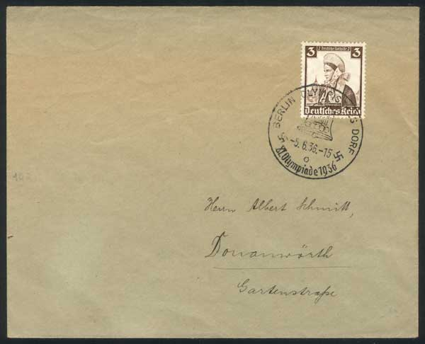 Lot 49 - germany postal history -  Guillermo Jalil - Philatino Auction # 1915 WORLDWIDE + ARGENTINA: Special April Auction