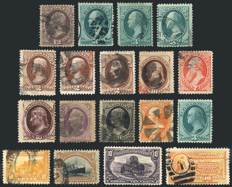 Lot 465 - united states Lots and Collections -  Guillermo Jalil - Philatino Auction # 1915 WORLDWIDE + ARGENTINA: Special April Auction