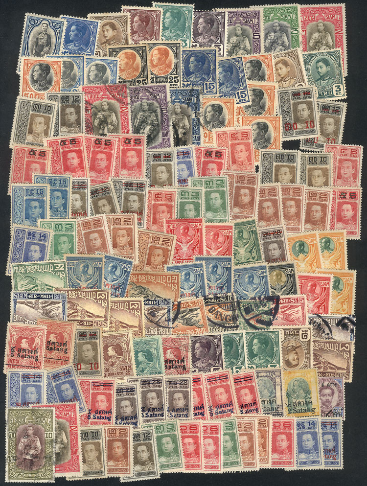 Lot 868 - thailand Lots and Collections -  Guillermo Jalil - Philatino Auction # 1915 WORLDWIDE + ARGENTINA: Special April Auction