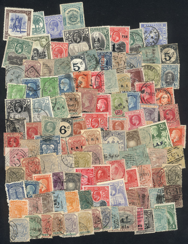Lot 404 - british colonies Lots and Collections -  Guillermo Jalil - Philatino Auction # 1915 WORLDWIDE + ARGENTINA: Special April Auction