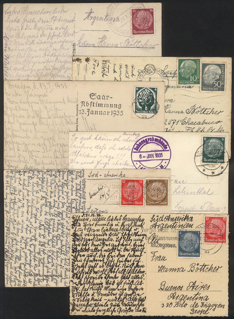 Lot 40 - germany postal history -  Guillermo Jalil - Philatino Auction # 1915 WORLDWIDE + ARGENTINA: Special April Auction