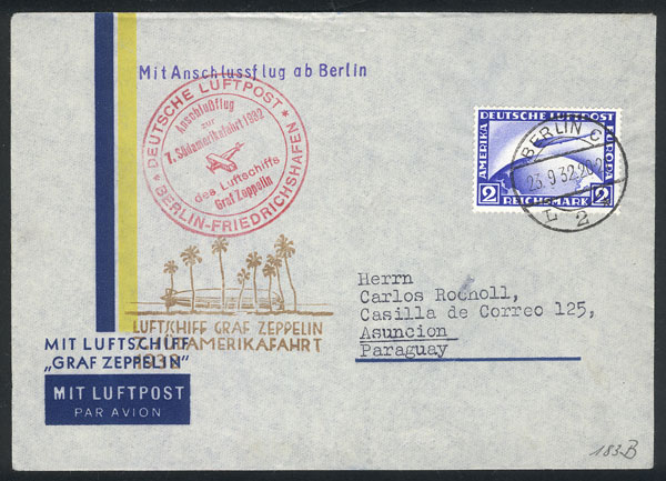 Lot 43 - germany postal history -  Guillermo Jalil - Philatino Auction # 1915 WORLDWIDE + ARGENTINA: Special April Auction