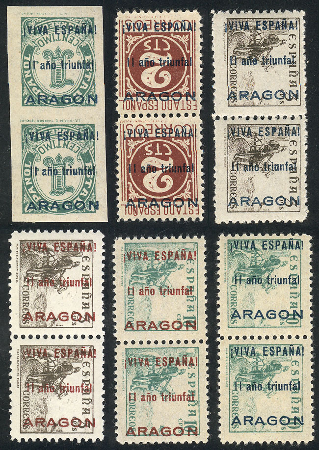Lot 441 - Spain local issues -  Guillermo Jalil - Philatino Auction # 1915 WORLDWIDE + ARGENTINA: Special April Auction