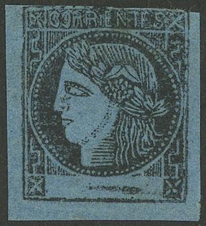 Lot 21 - Argentina corrientes -  Guillermo Jalil - Philatino Auction # 1916  ARGENTINA: