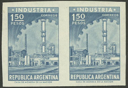 Lot 355 - Argentina general issues -  Guillermo Jalil - Philatino Auction # 1916  ARGENTINA: