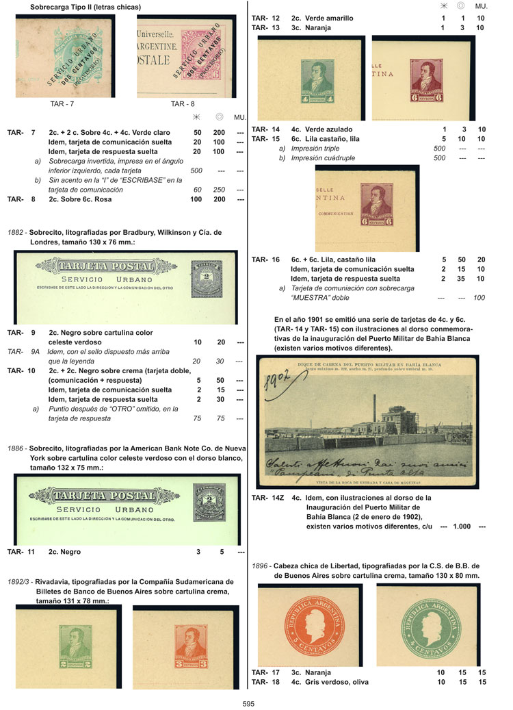 Lot 1 - Argentina books -  Guillermo Jalil - Philatino Auction # 1918 ARGENTINA: