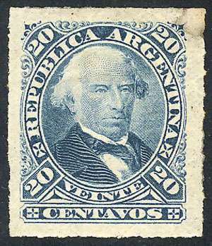 Lot 102 - Argentina general issues -  Guillermo Jalil - Philatino Auction # 1918 ARGENTINA: