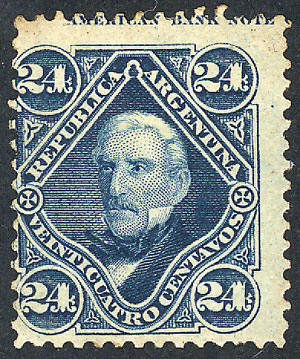 Lot 105 - Argentina general issues -  Guillermo Jalil - Philatino Auction # 1918 ARGENTINA: