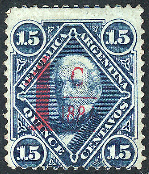 Lot 112 - Argentina general issues -  Guillermo Jalil - Philatino Auction # 1918 ARGENTINA: