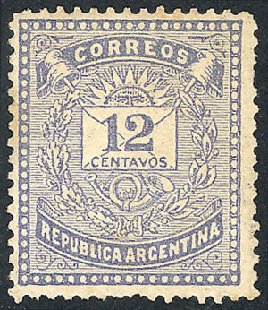 Lot 111 - Argentina general issues -  Guillermo Jalil - Philatino Auction # 1918 ARGENTINA: