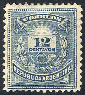 Lot 115 - Argentina general issues -  Guillermo Jalil - Philatino Auction # 1918 ARGENTINA:
