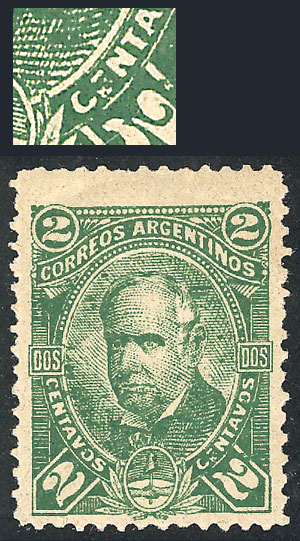 Lot 117 - Argentina general issues -  Guillermo Jalil - Philatino Auction # 1918 ARGENTINA: